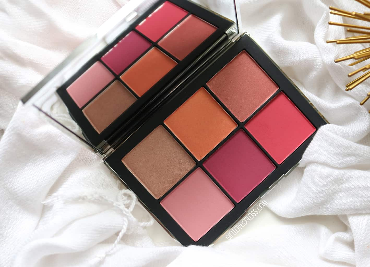 NARS Wanted Blush Palette 1 and 2 review