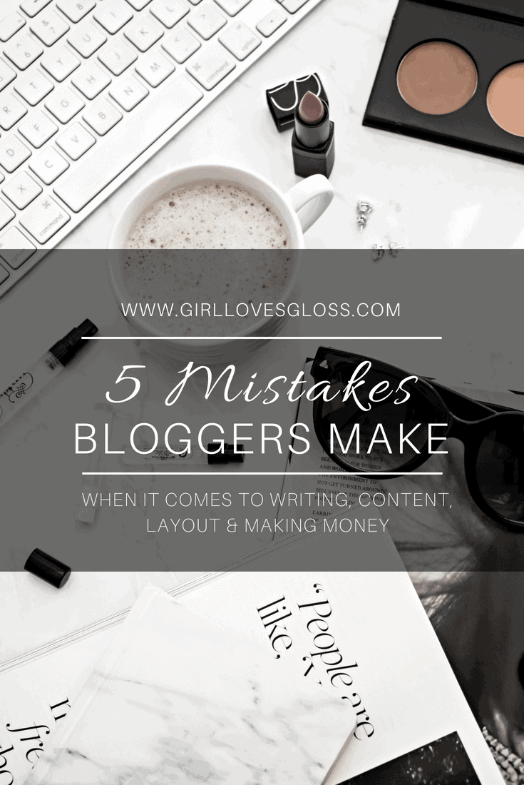 5 blogger mistakes and how to fix them fast