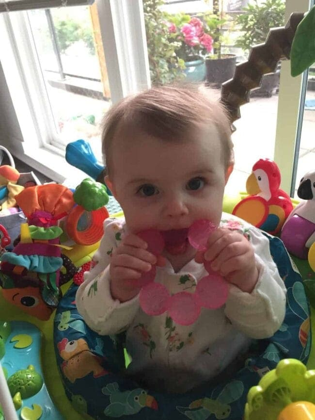 Everly 9 Months Old