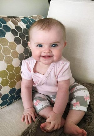 Everly 6 Months Old