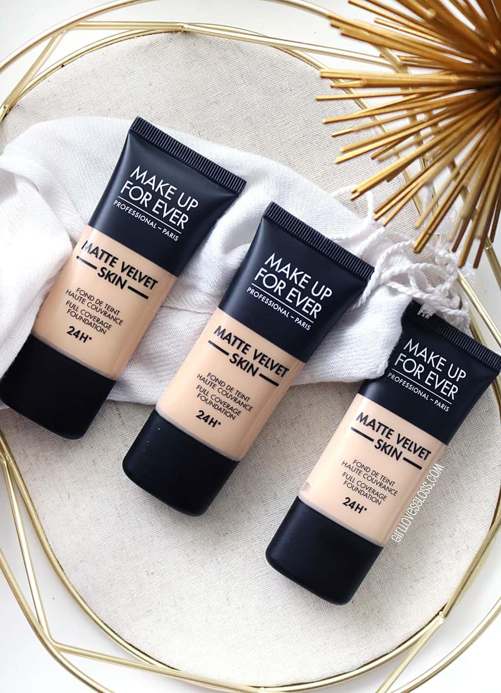 Make Up For Ever Matte Velvet Skin Foundation