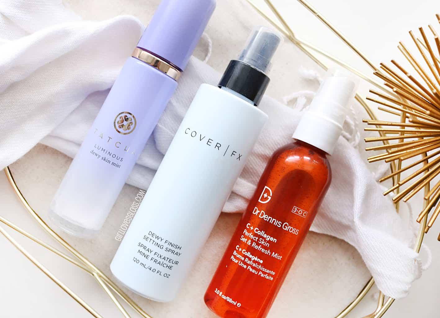 The Best Setting Sprays for Dry Skin