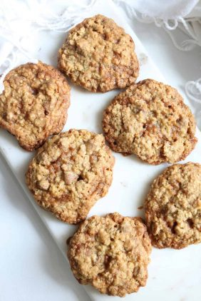 Oatmeal Toffee Chocolate Chip Cookie Recipe