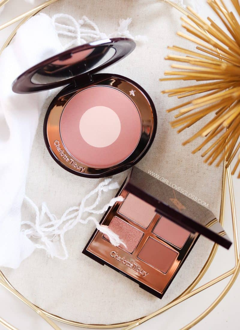 Charlotte Tilbury Pillow Talk Palette and Blush