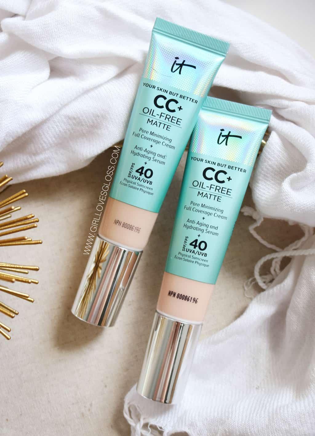 IT Cosmetics Matte CC Cream on Dry Skin
