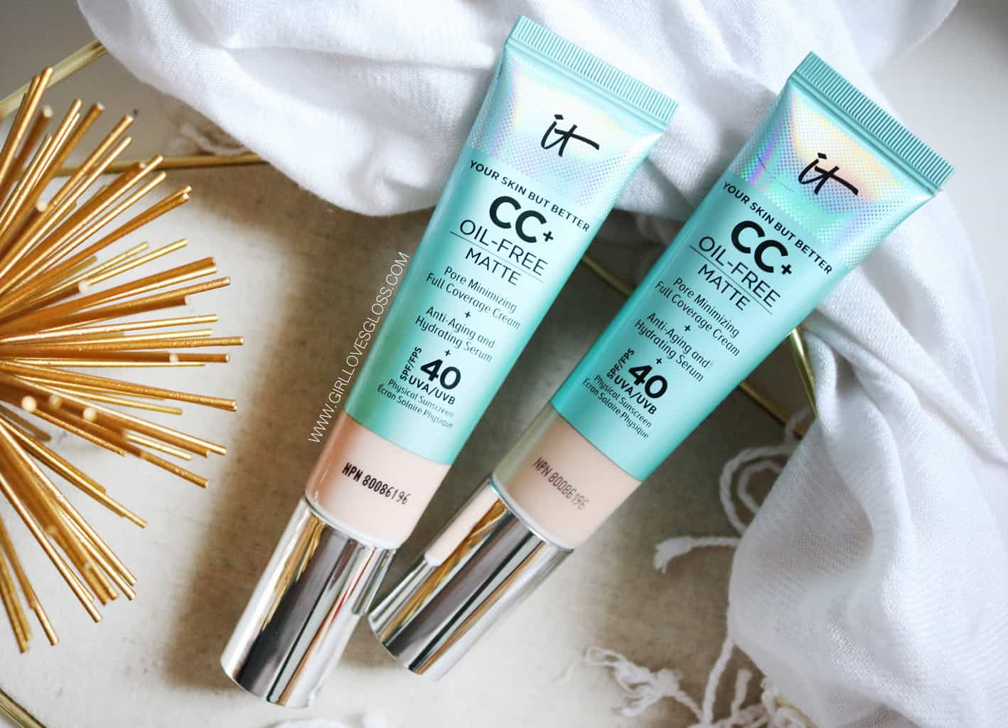 It Cosmetics CC Matte Cream Review