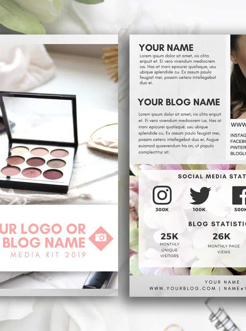 STONE Customized Blogger Media Kit