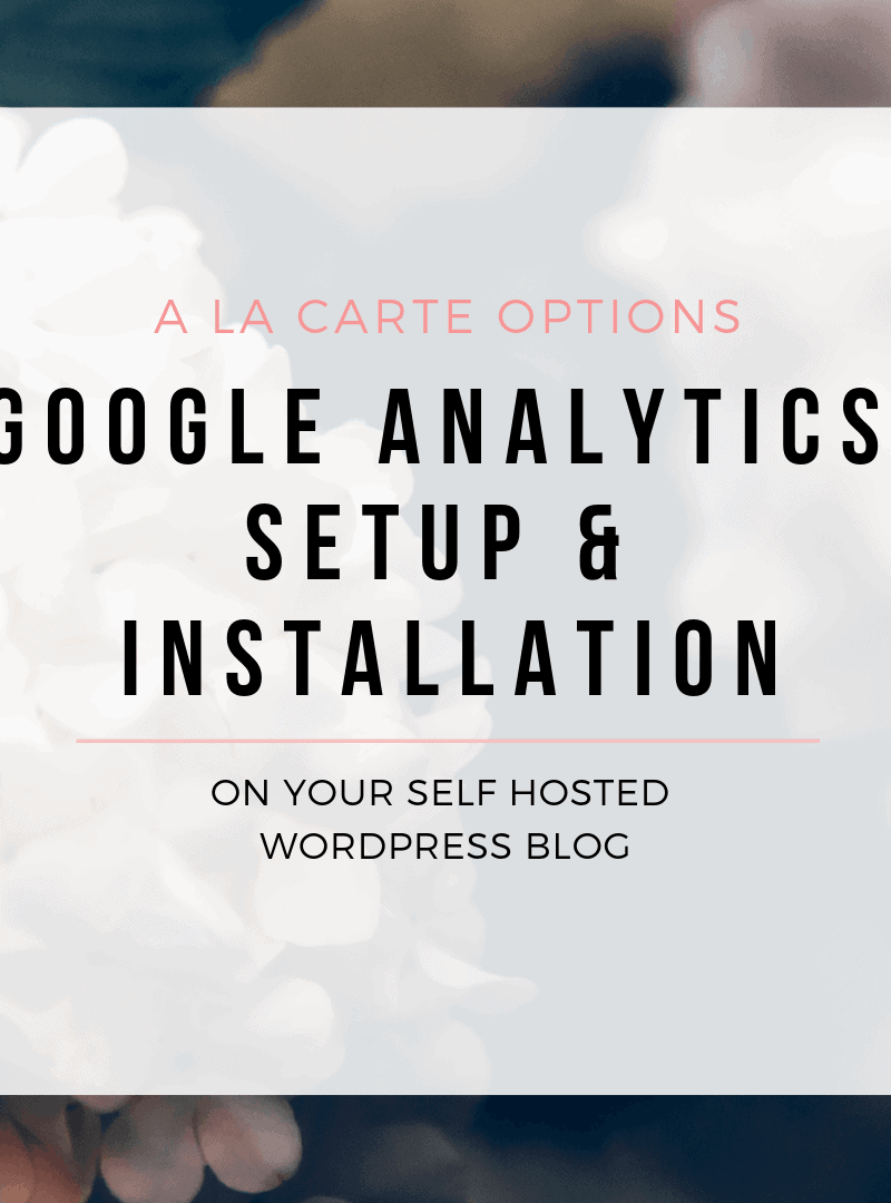 Wordpress Google Analytics Setup