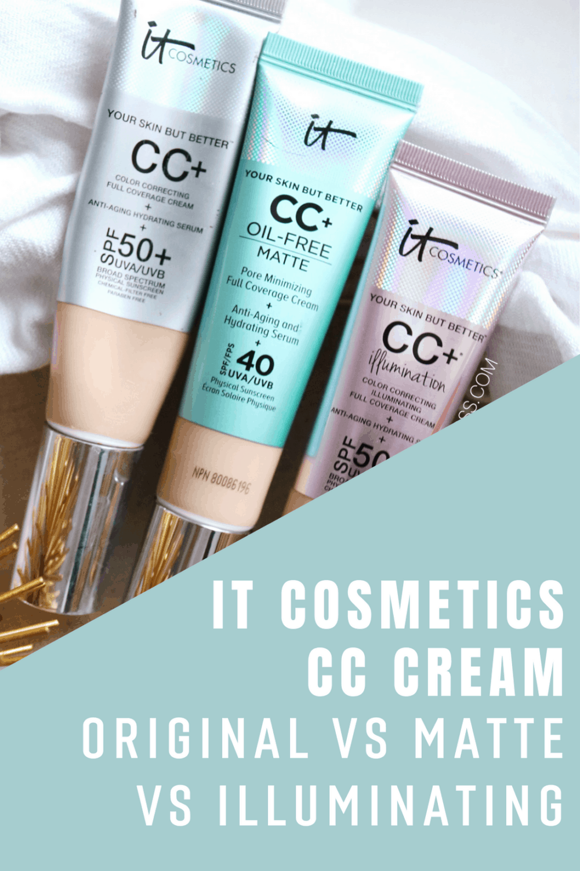 It Cosmetics CC Cream Original Matte Illuminating