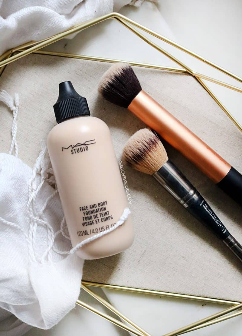 How to use MAC face and Body Foundation
