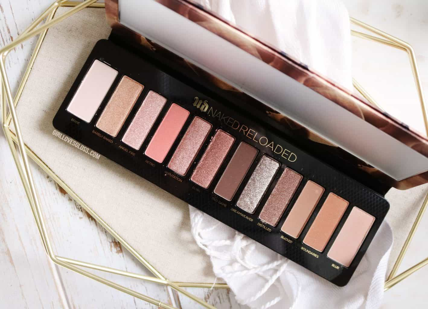 Getting Naked Again  Urban Decay Naked Reloaded  Girl -6150