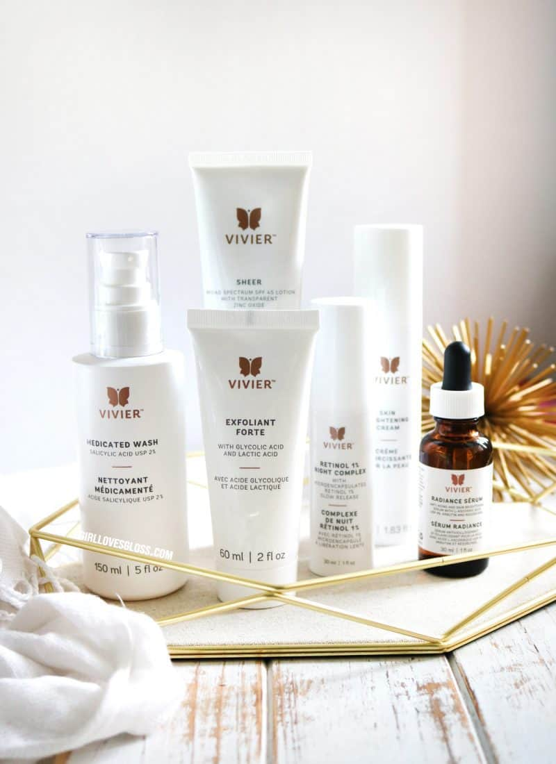Introduction to Vivier Skincare and my First Chemical Peel