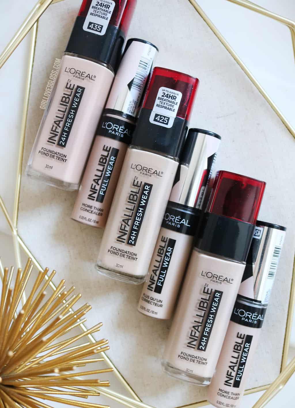 L'Oreal Freshwear Foundation and Concealer Review
