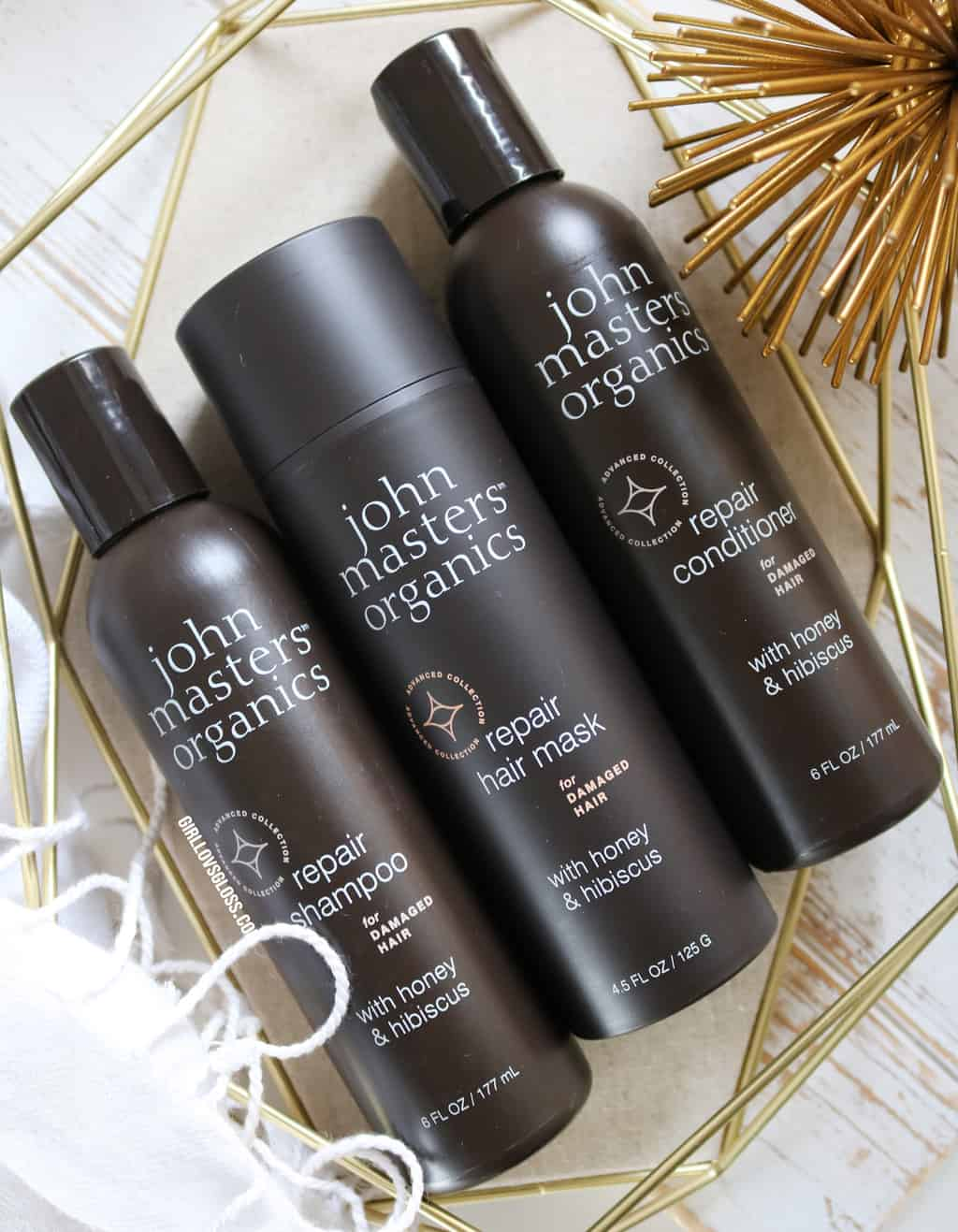 The Triple Threat for Dry or Damaged Hair