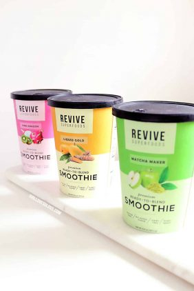 Revive Superfoods Smoothies Review