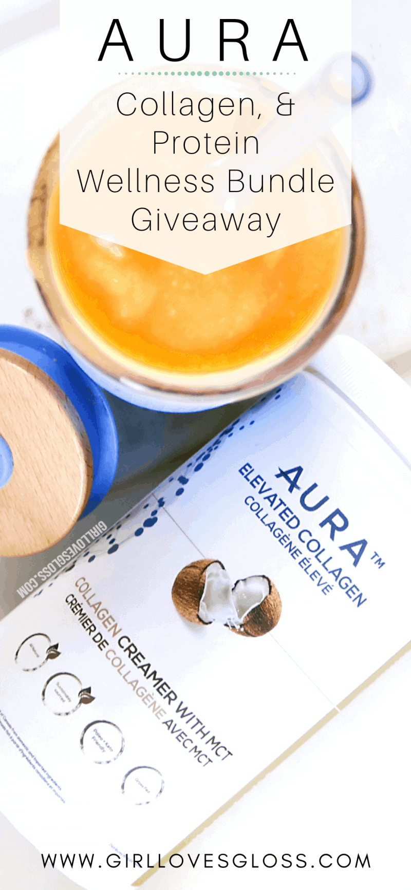 AURA Collagen and Protein Wellness Bundle Giveaway