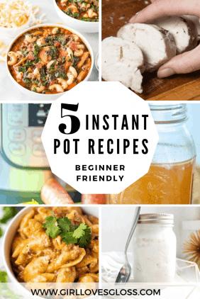 5 Easy Instant Pot Recipes