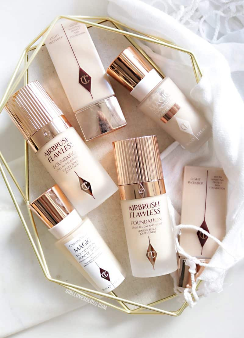 Guide to Charlotte Tilbury Foundations