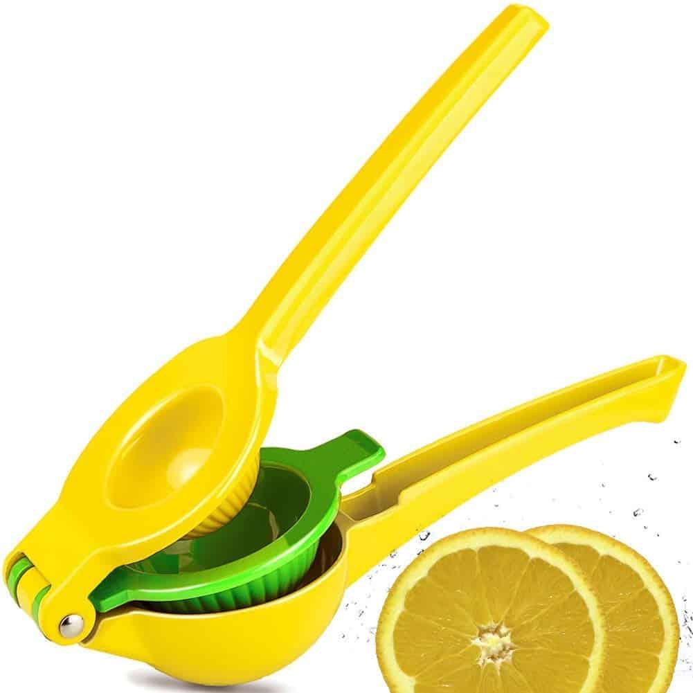 CMP Lemon Lime Squeezer, Top Rated Premium Quality Metal Manual Hand Citrus Press Juicer for Lemons Limes Citrus Fruit, No Pulp or Seeds, Dishwasher Safe: Amazon.ca: Home & Kitchen