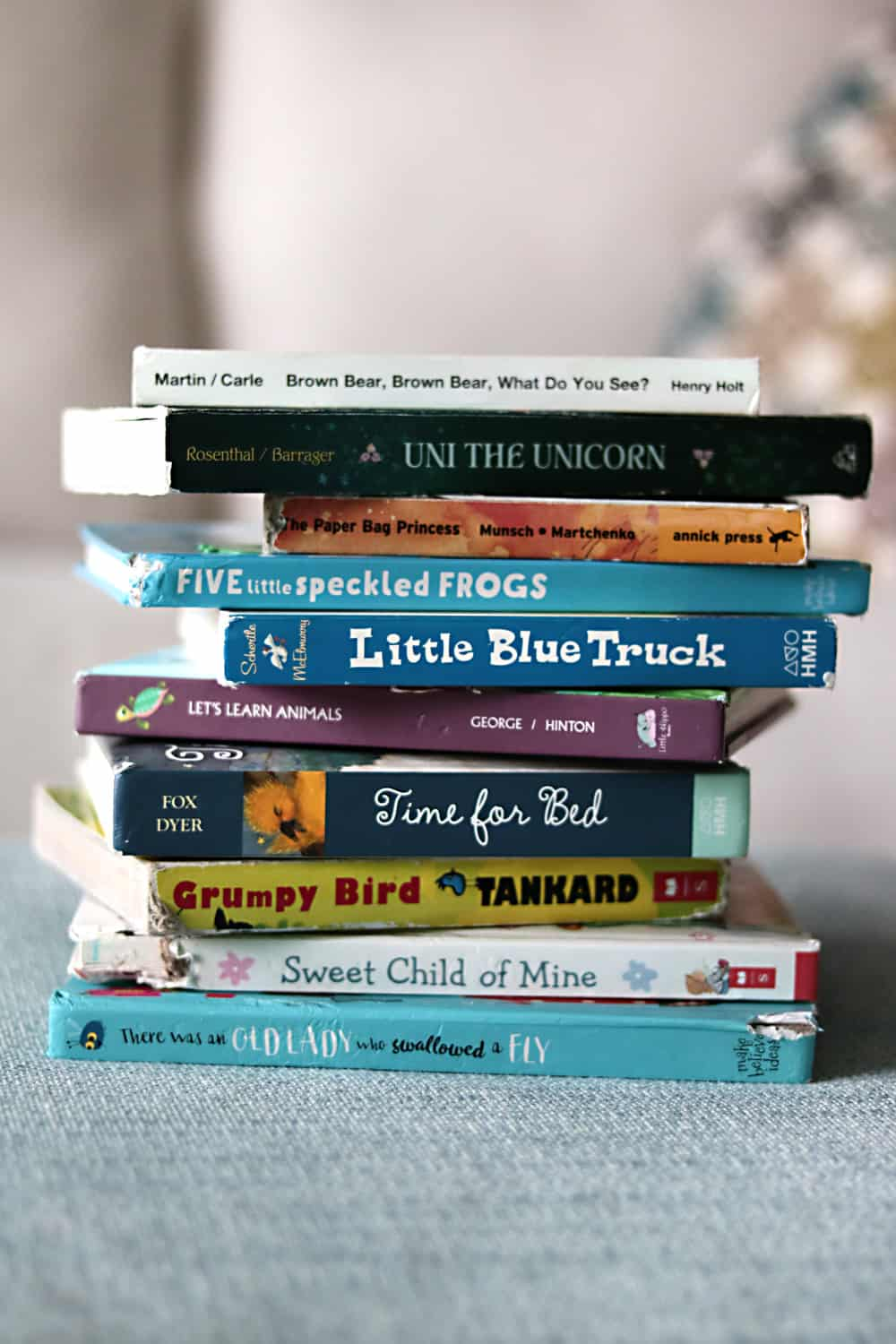 10 Books My Toddler Loves to Read