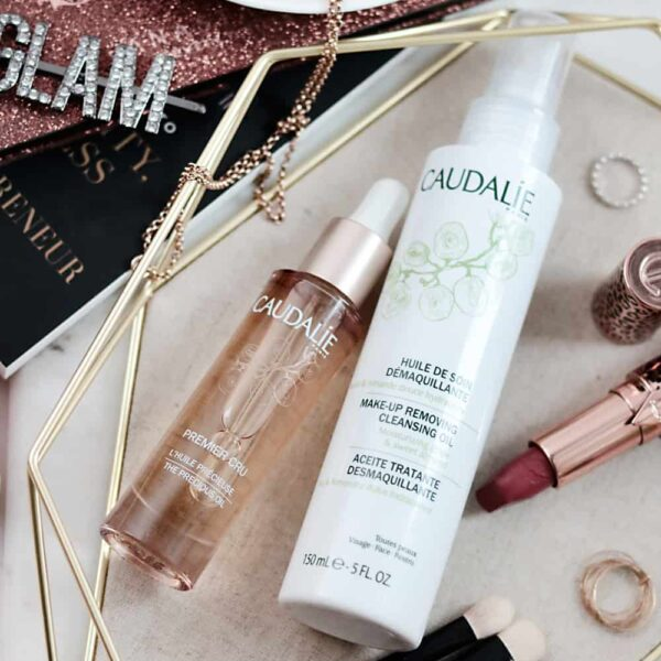 Testing out Caudalie Skincare with BeautySense