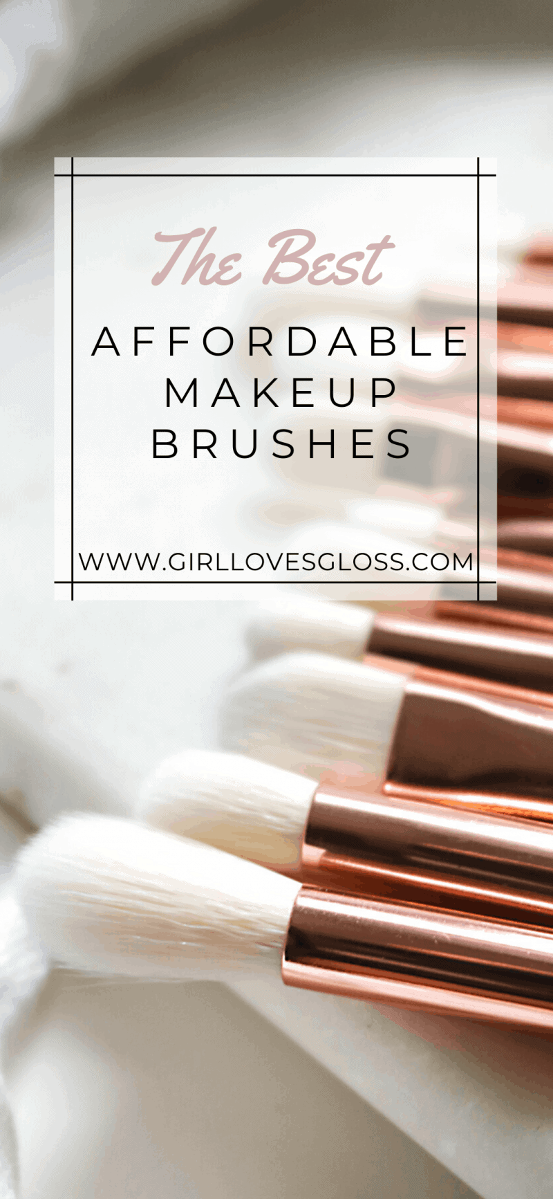 The Best Affordable Makeup Brushes