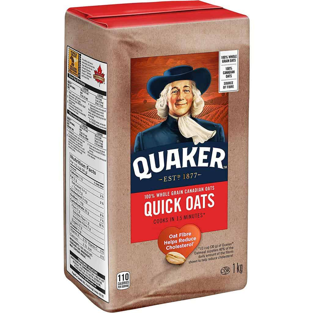 Standard Quaker Quick Oats 1 Kg