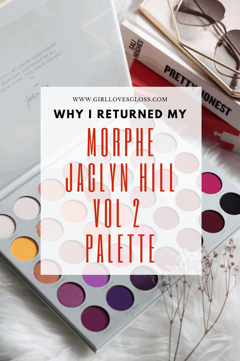 Why I returned my Morphe jaclyn Hill Vol 2 palette
