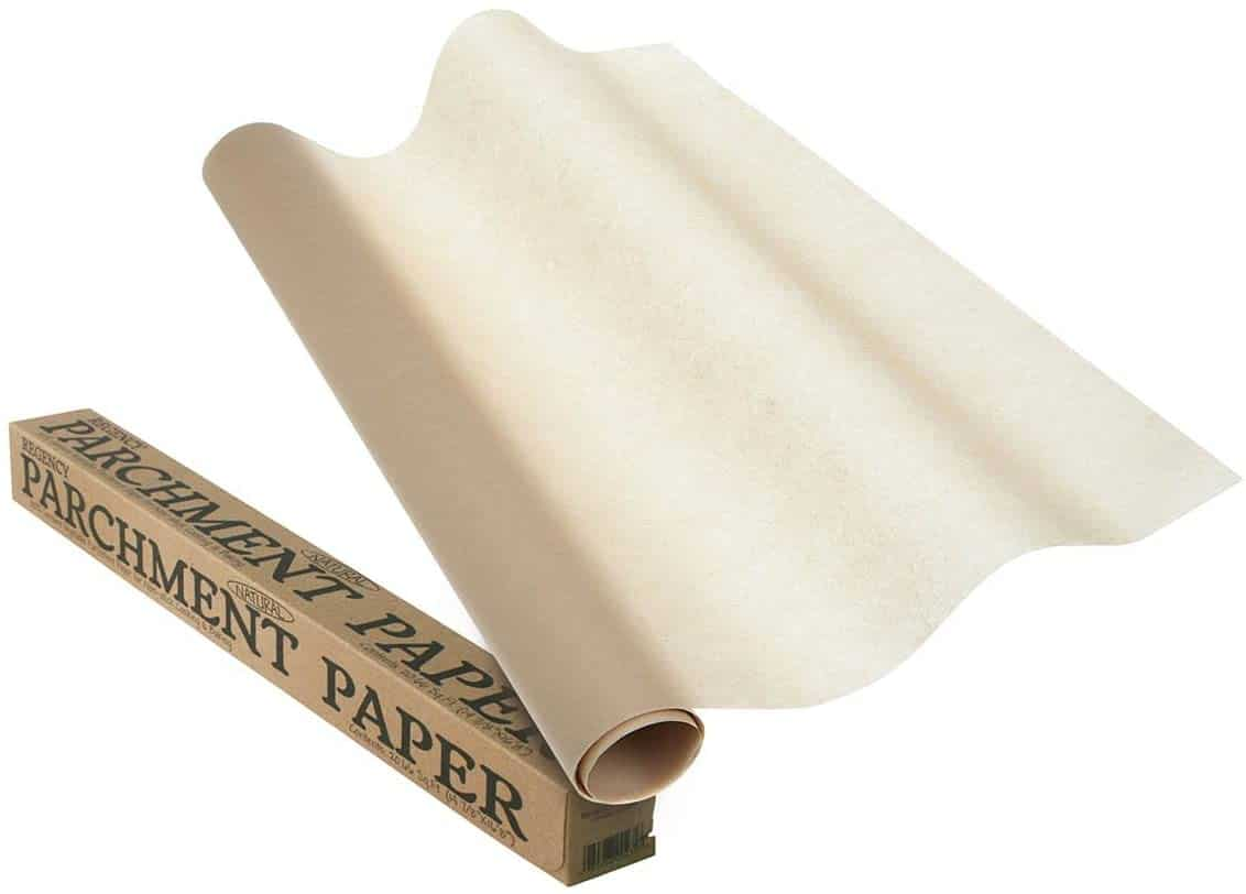 Regency Wraps Natural Non-Stick Parchment Paper for Baking 20.66 Foot Roll