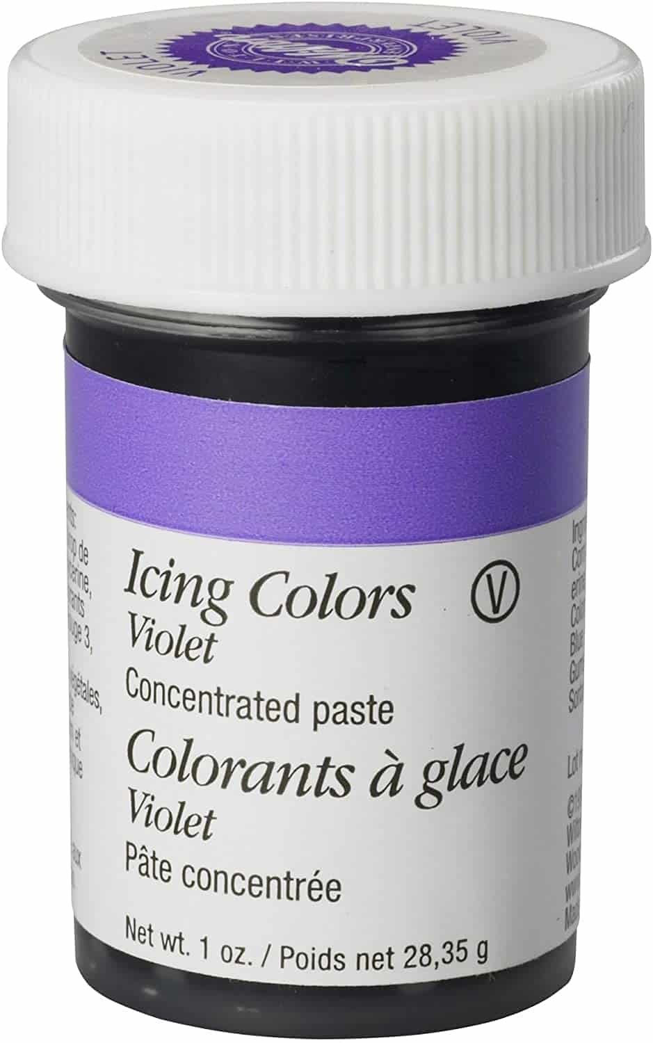 Wilton Violet Gel Icing Colour, 28.3g (1oz) jar