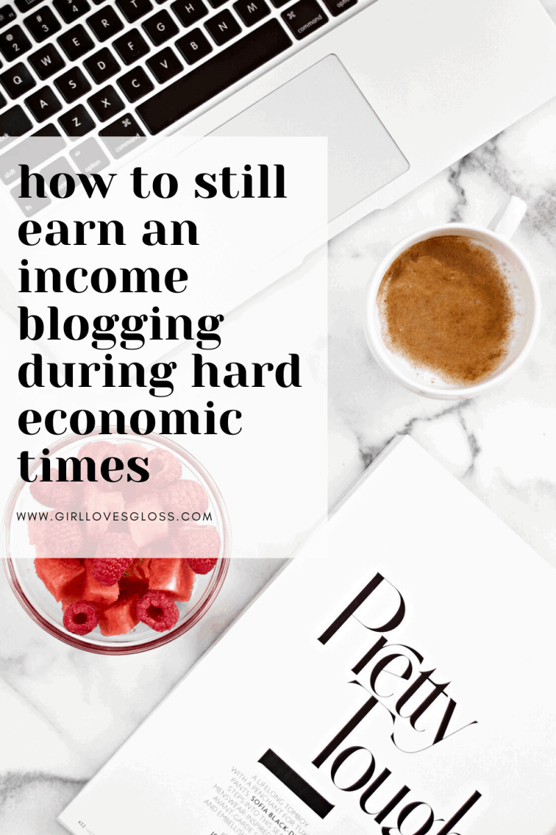 Earning Income During Hard Economic Times