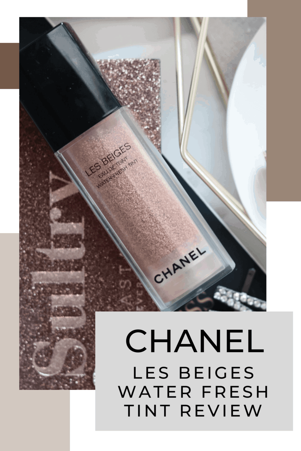 Chanel Les Beiges Water Fresh Tint Review and swatch light medium