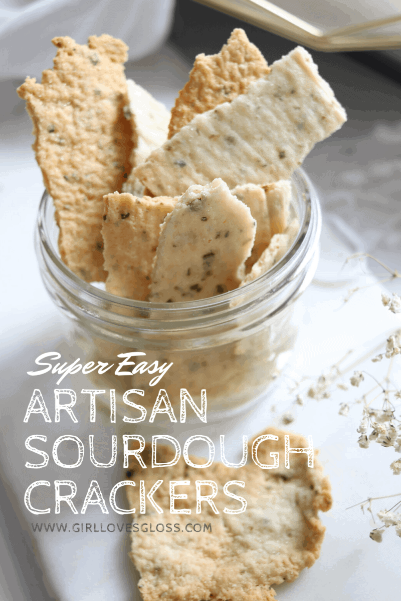 Easy Sourdough Starter Discard Cracker Recipe