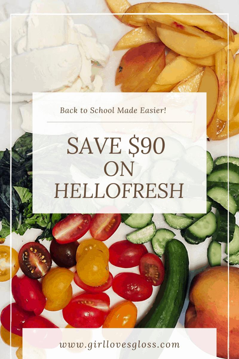 HelloFresh Canada $90 discount