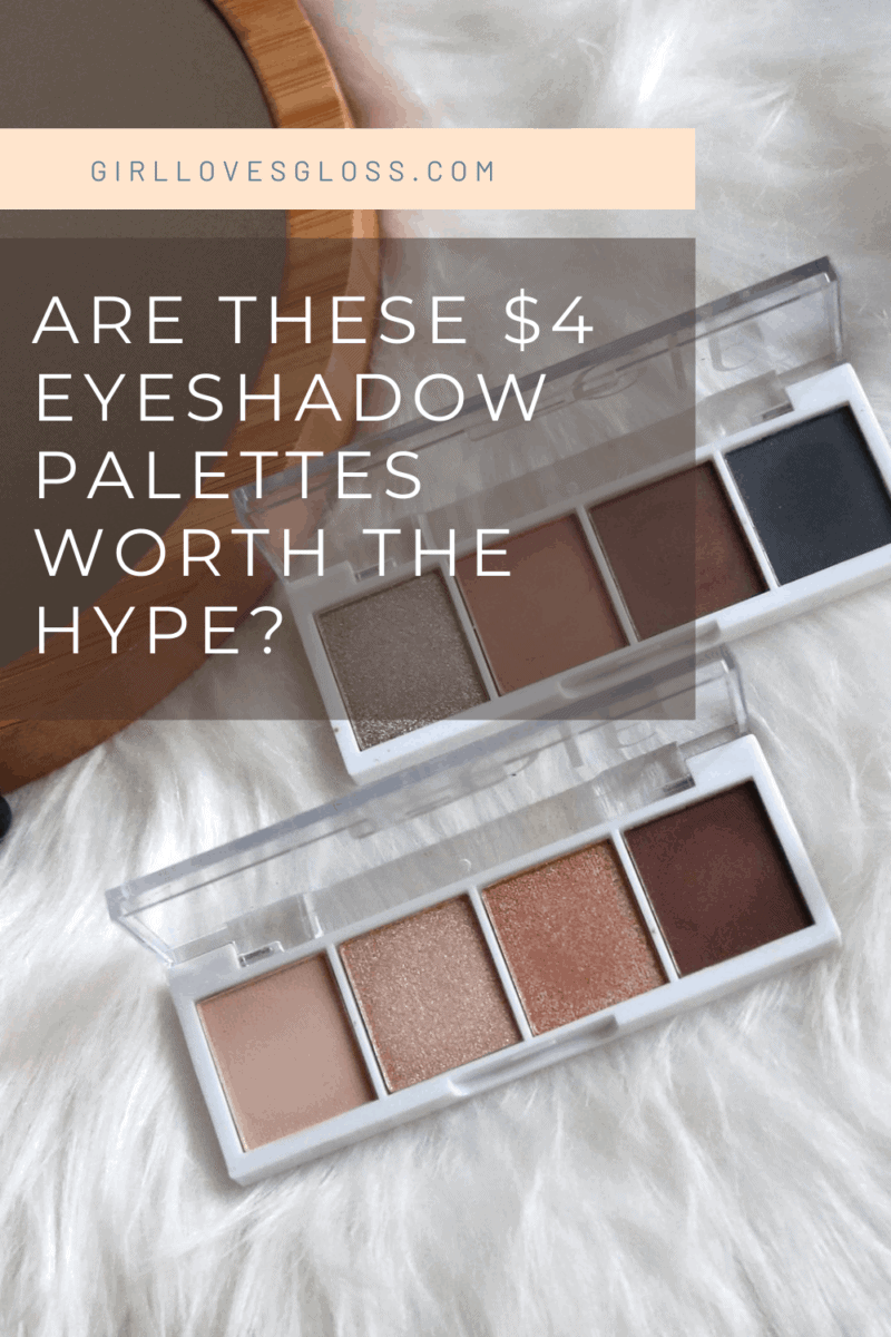 ELF Cosmetics Bite Sized Eyeshadow Palette Review