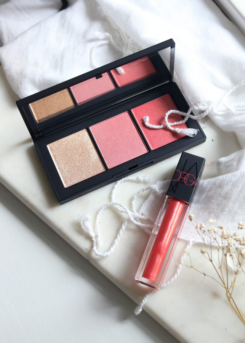 NARS Orgasm X Palette Oil Infused Lip Tint Review and Swatches