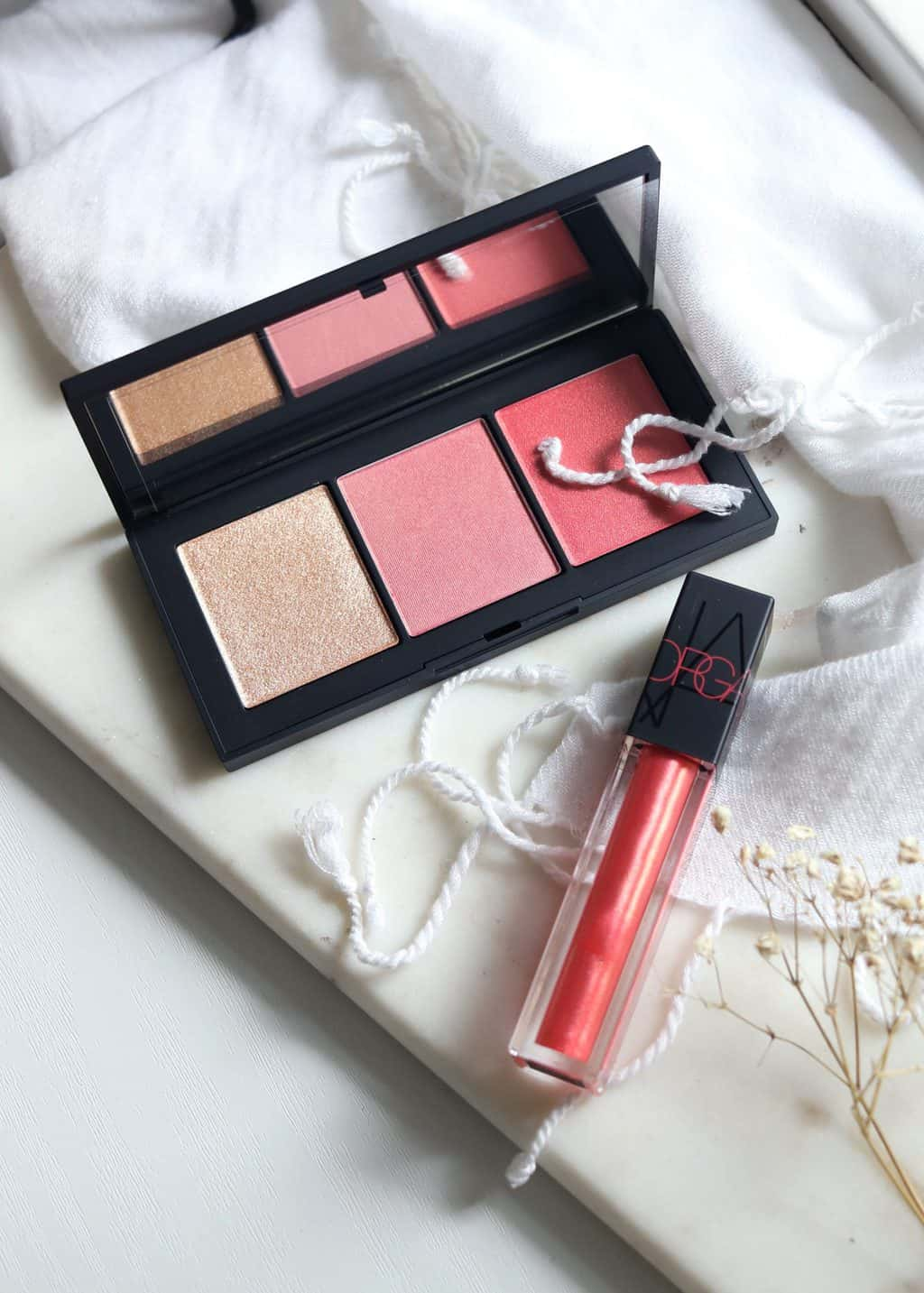 New Love | NARS Orgasm X Palette and Oil-Infused Lip Tint