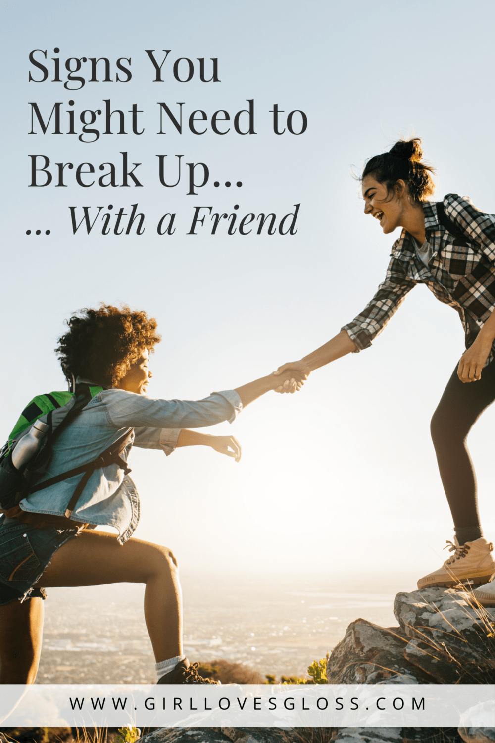 How to Break Up With a Friend