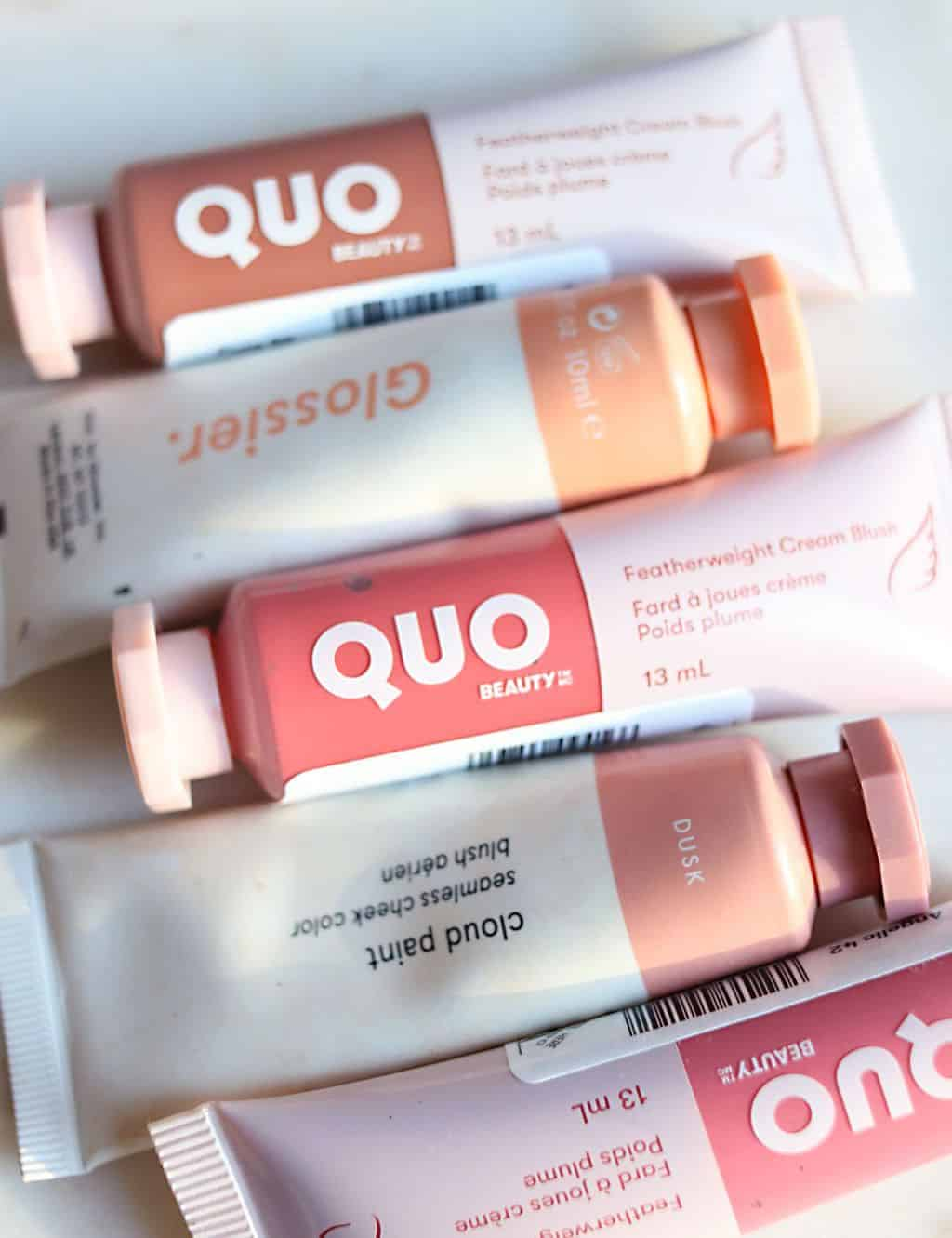 Glossier Cloud Paint Dupe Quo Featherweight Cream Blush