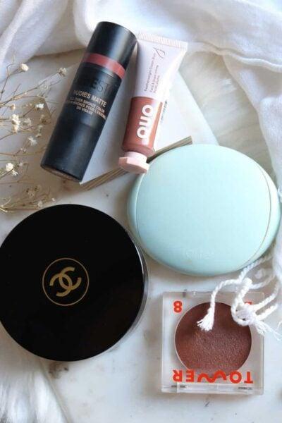 Cream Bronzer Comparison Chanel vs Tarte vs Nudestix vs Tower 28 vs Quo Beauty