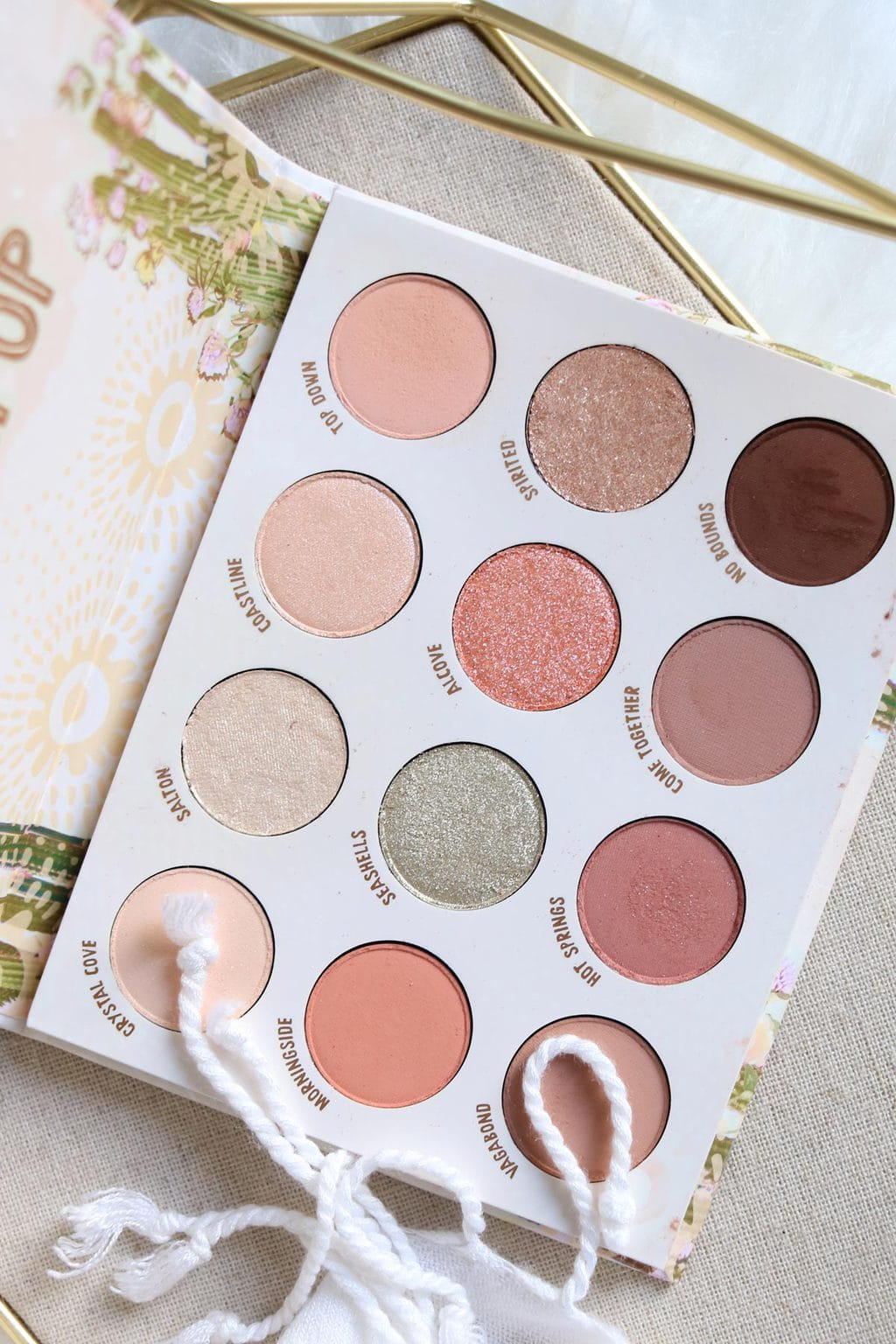 Colourpop Wild Nothing Palette Review and Swatches