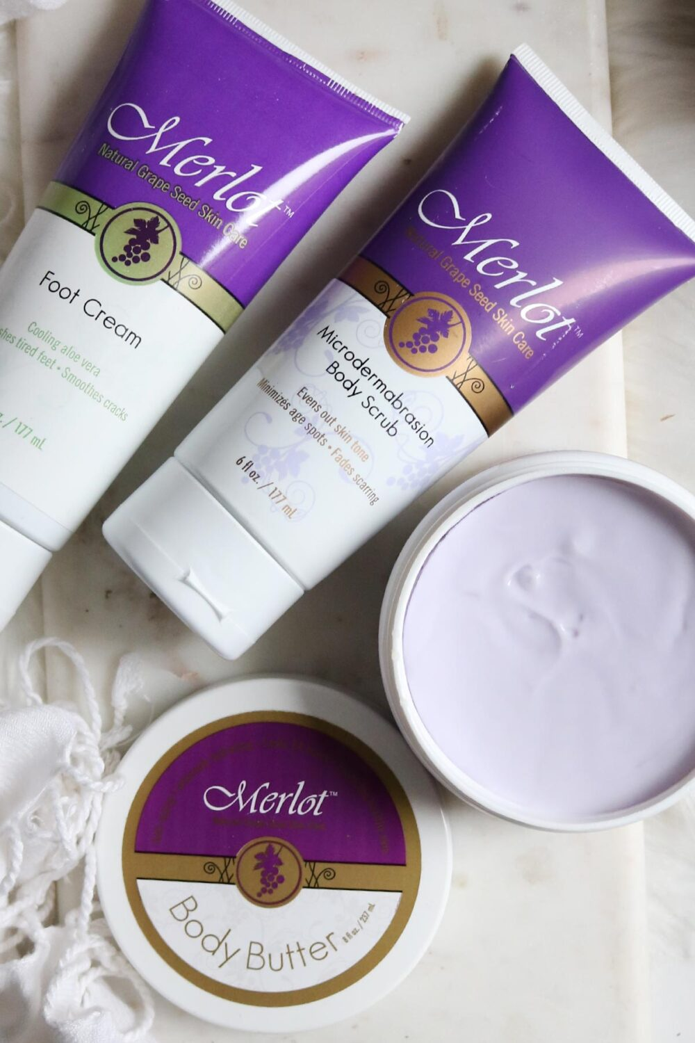 head to toe budget-friendly pamper routine with Merlot Skincare