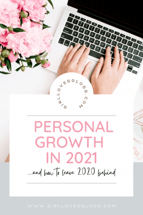 how to achieve Personal growth in 2021