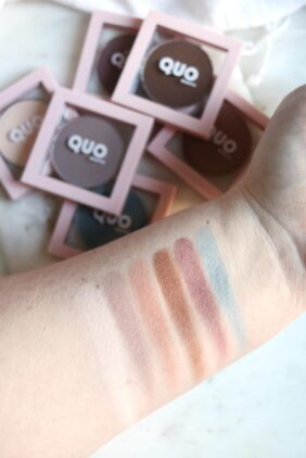 Quo Beauty Wake Up Eyeshadow Swatches